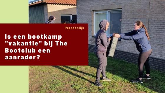 bootkamp vakantie the bootclub