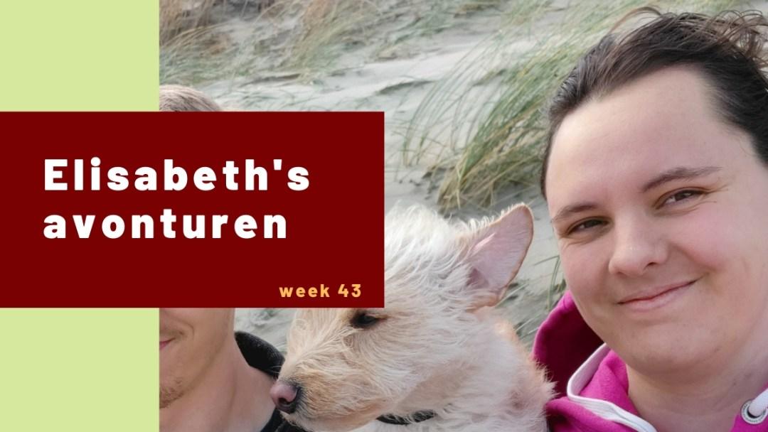 Elisabeth's avonturen week 43 - 2020