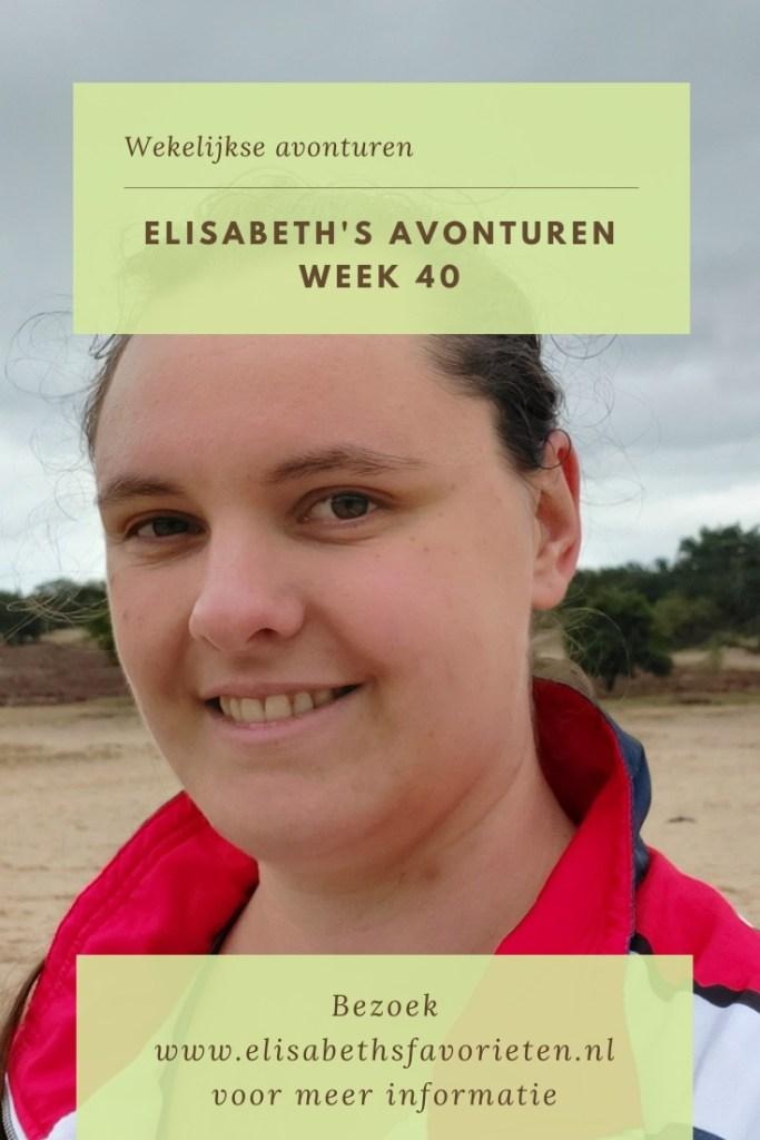 Elisabeth's avonturen week 40