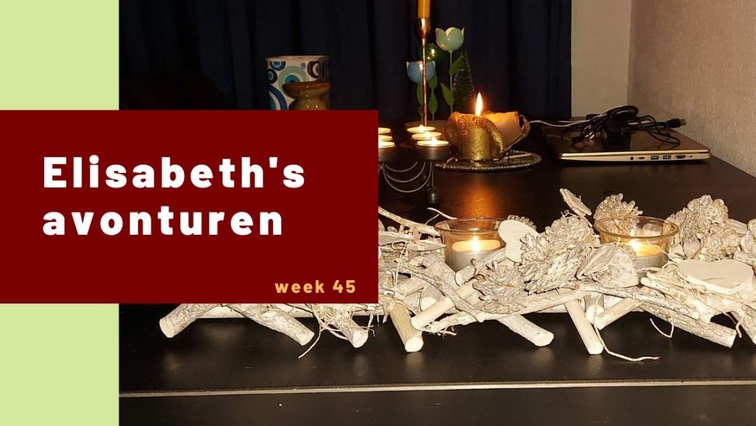 Elisabeth's avonturen week 45.