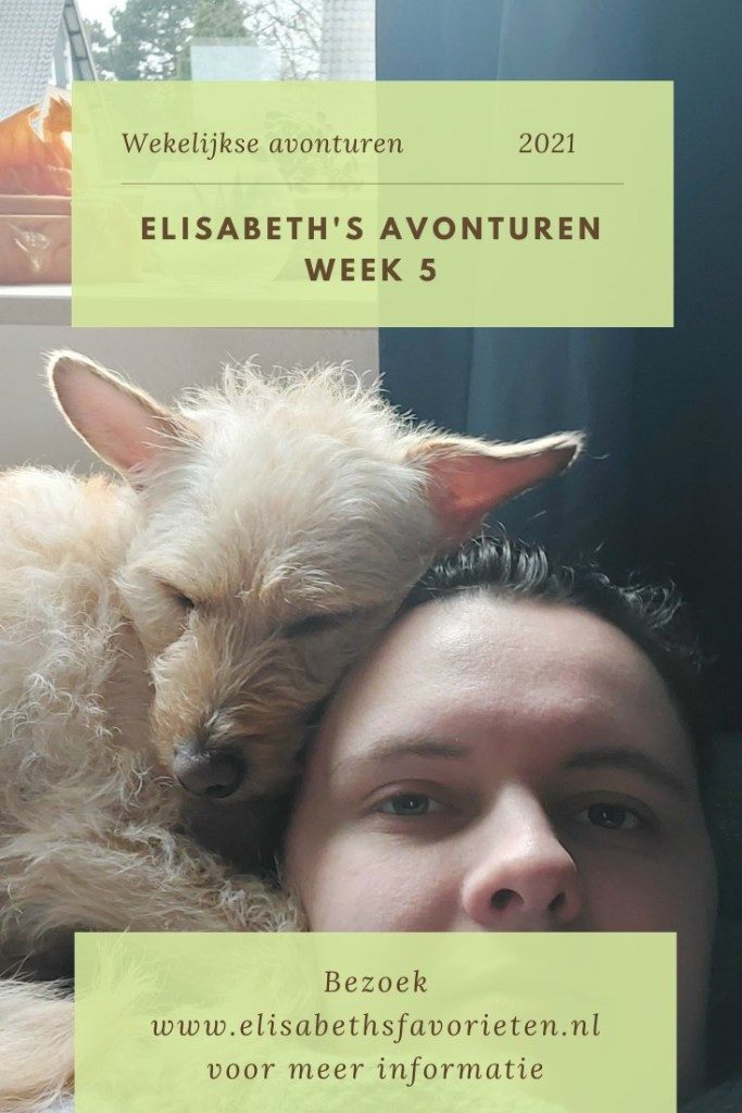 Elisabeth's avonturen week 5 2021