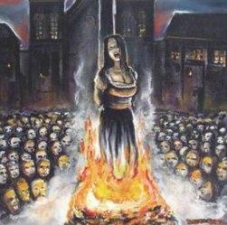 Brujas en la hoguera