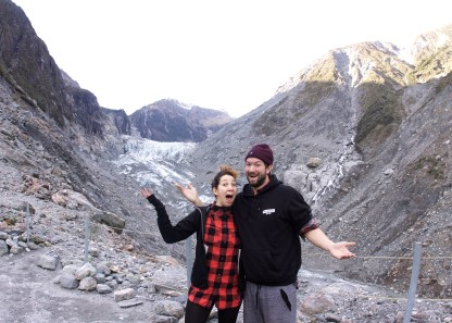 Hi to Fox Glacier