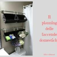 Il planning delle faccende domestiche