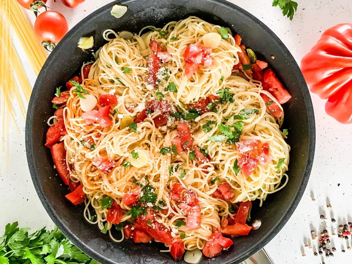 Onepot Spaghetti Aglio Olio