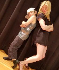 Dub and his dance teacher Anne Pennypacker