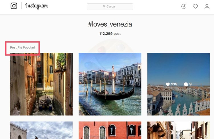 Come aumentare i like su instagram - post popolari