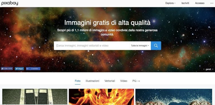 immagini gratis senza copyright pixabay