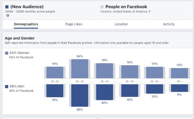 Audience Insights di Facebook