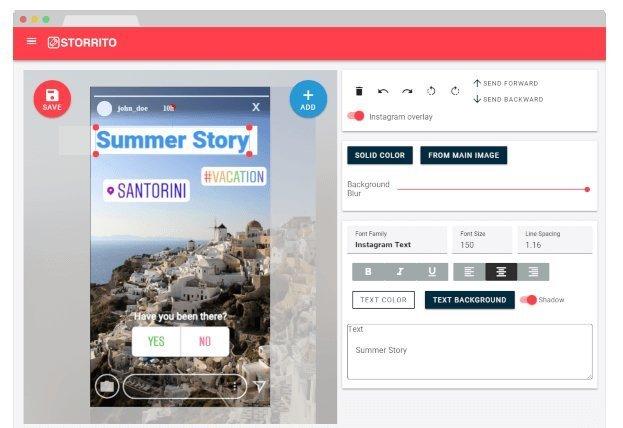 Storrito: toll per programmare le stories su Instamgra