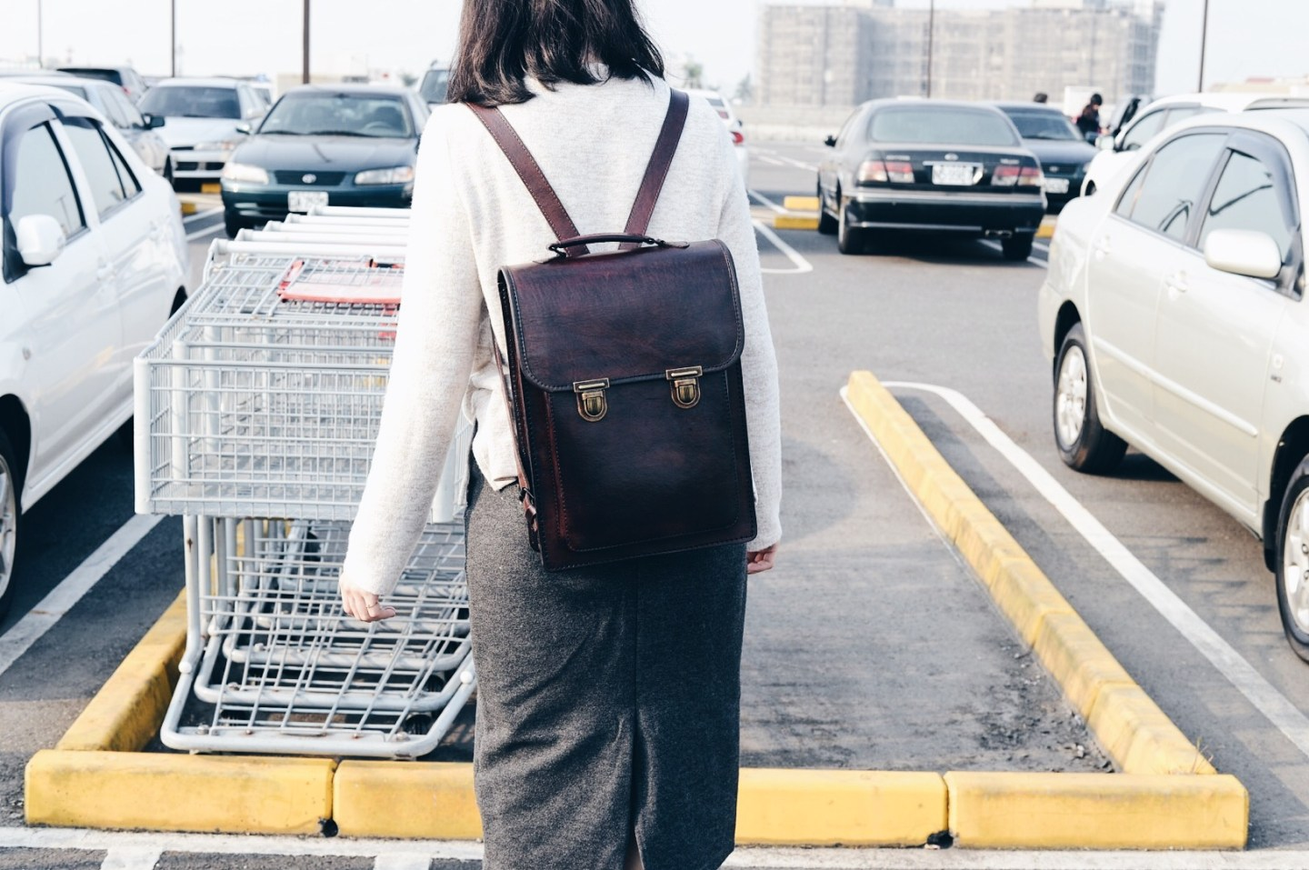 #ootd 006| Beara Beara Santa Anna Backpack