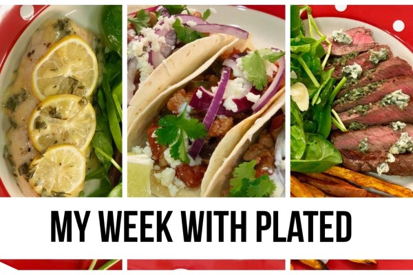 My Week With Plated