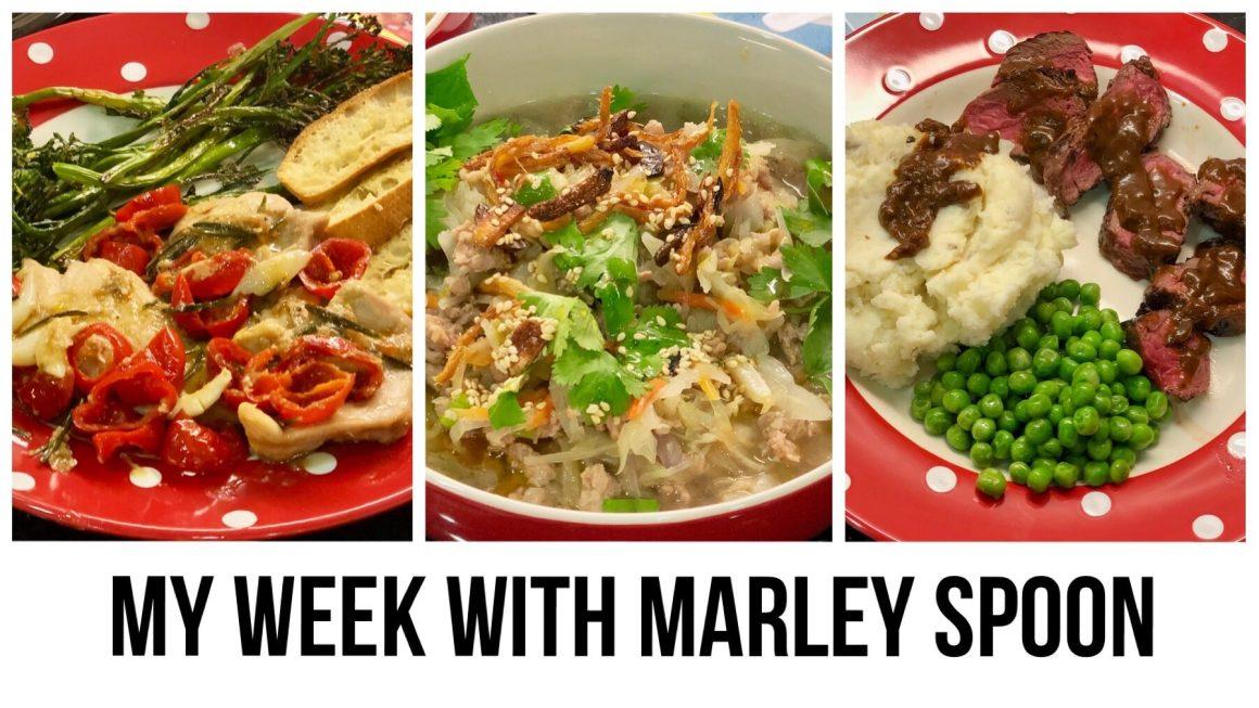 My Week with Marley Spoon