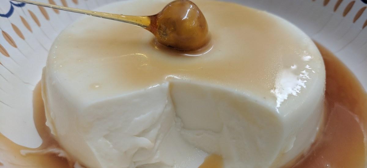 Panna Cotta with Caramel Sauce