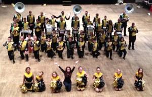 Marchin Band Sans Pistons Eloyes Elise Pompom Girl Show Spectacle Fanfare Orchestre