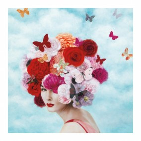 Belle Fleur  54 x 54