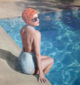 Poolside Paige 44x44