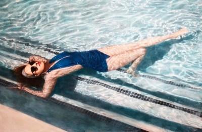 Blue Summer 38x60