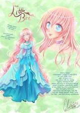 Kotori från min manga Little Bird. Digital. 2012