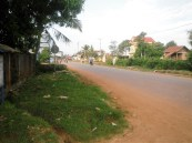 The road right near my home