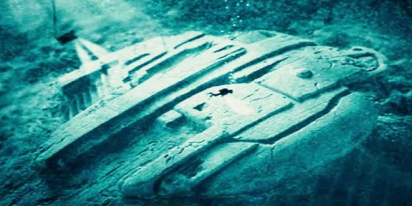 Mystère de l'OVNI sous l'Eau.  Des Aliens repérés dans la Mer Baltique