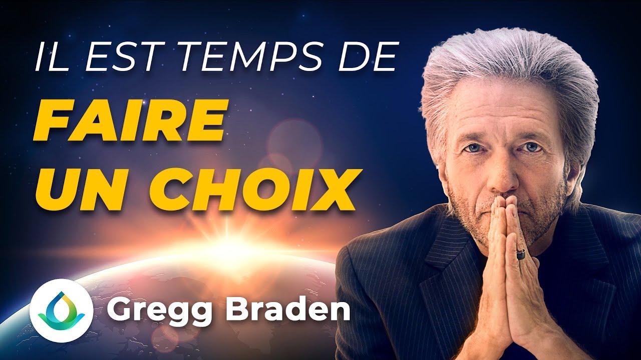 Nous sommes à un tournant pour l'humanité. Gregg Braden