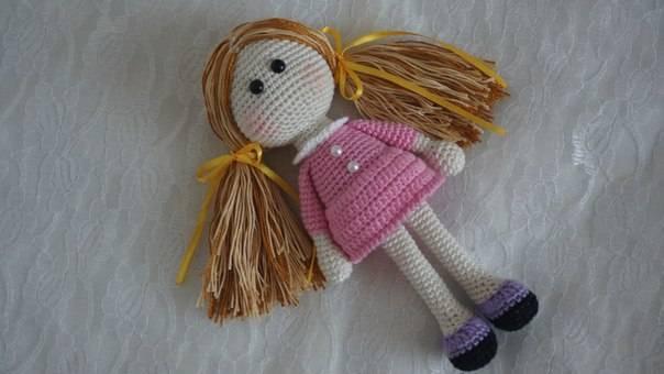 Amigurumi Minik Bebek Yapılışı-Amigurumi Little Doll Pattern ... | 340x604
