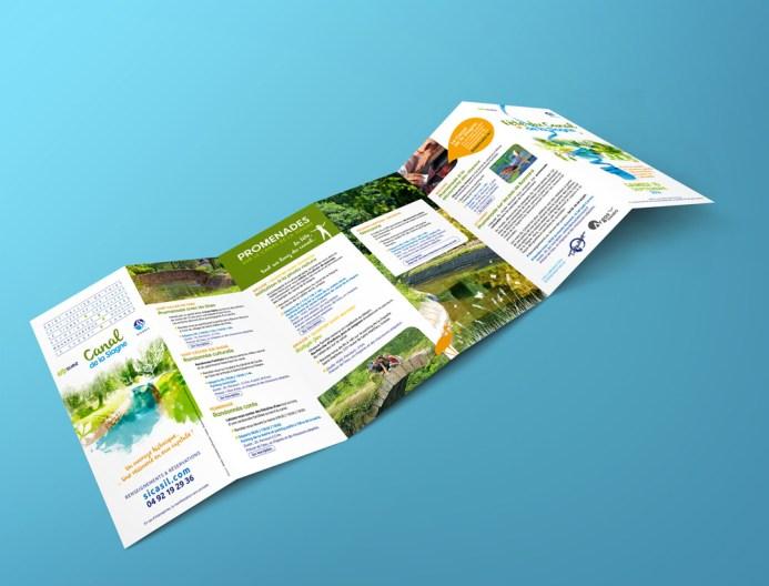 Fête du Canal de la Siagne - Brochure programme