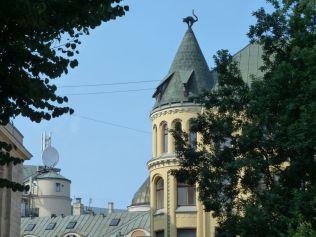 Riga P1650264 Liv tér, Macskaház