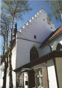 Szentlélek templom, hátul