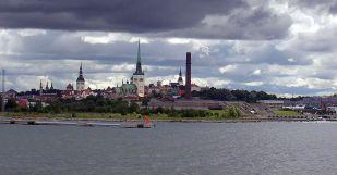Tallinn-kikötő -Ralf Roletschek fotó