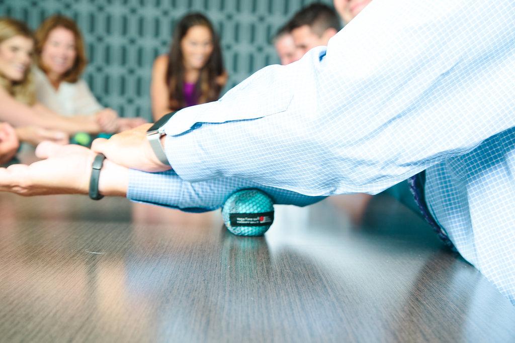 yoga tune up ball corporate