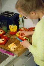 Rode en gele paprika's bevatten tweemaal zoveel vitamine C als groene paprika, ideaal om het dieet van een vegetariër aan te vullen.
