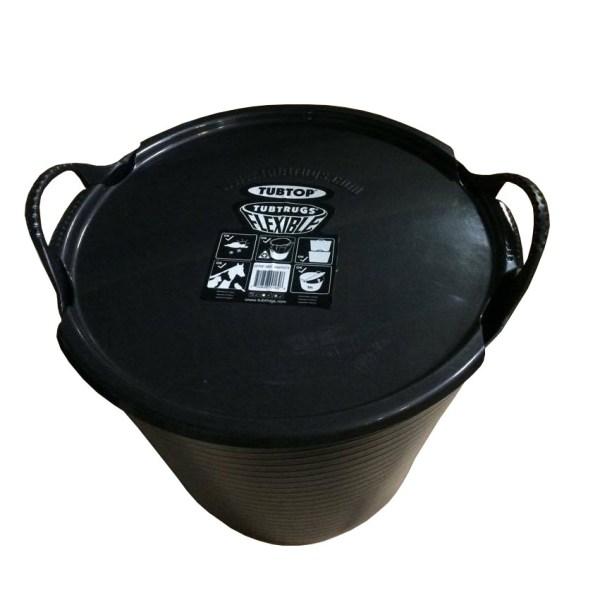 Gorilla bucket 26L black lid