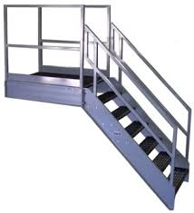 TYPES OF STEEL STAIRS
