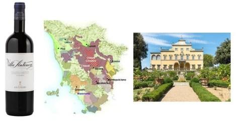 """D.O.C.G Chianti Classico Riserva """"Villa Antinori"""" 2015"""