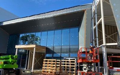 Arena Leisure Centre, Camberley Progress