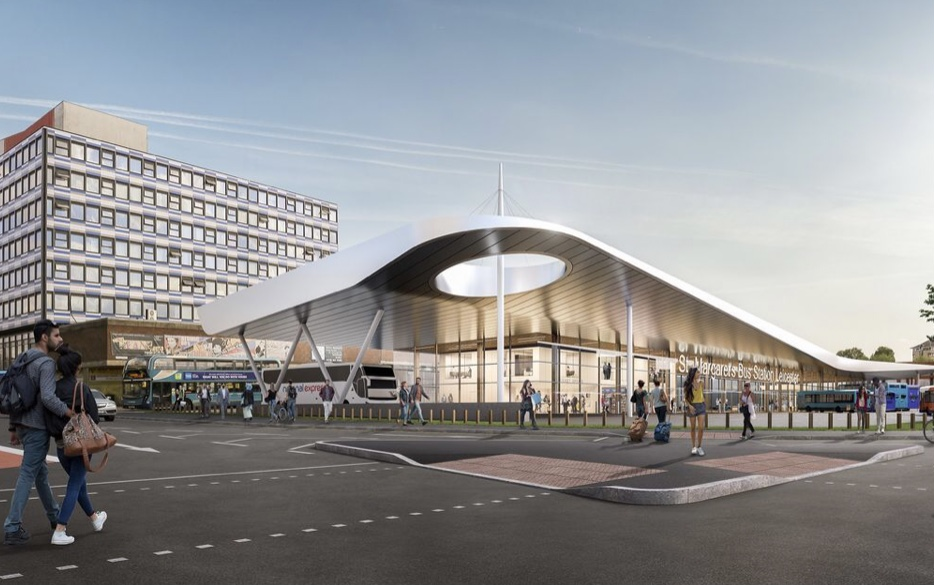 Part of three new exciting contracts with Morgan Sindall in the Midlands, Leicester St.Margarets Bus Station