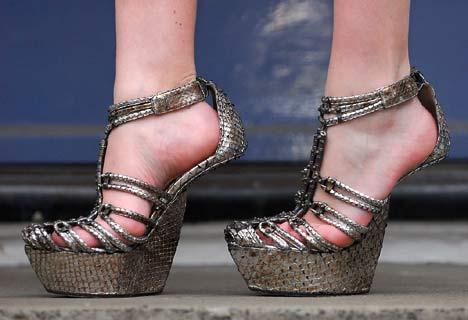 Heel-Less High Heels