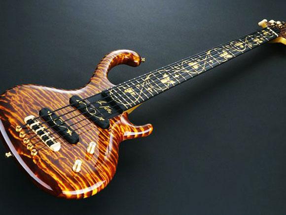 Jens Ritters Flora Aurum Worlds Most Expensive Bass Costs