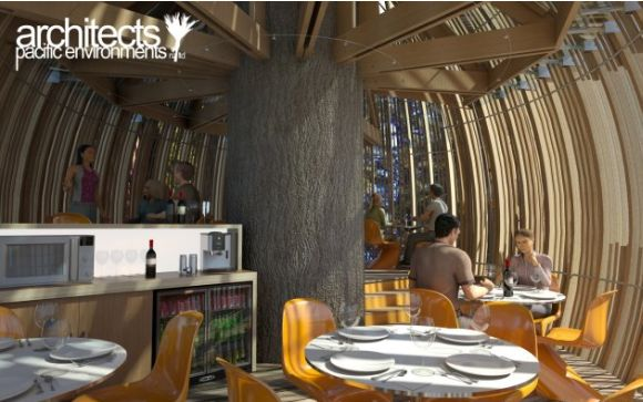 treehouse2 Yellow Treehouse Restaurant: Exotic dining in enchanted woods!