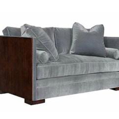 Fuzzy Sofa Slipcover Leather Uk Cheap Baby Blue Wicker Loveseat / Bella Casa Ganz Clock
