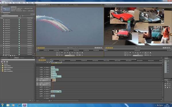 Обзор Adobe Premiere Pro CS5