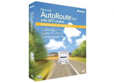 Microsoft Autoroute 2007 с обзором GPS-локатора