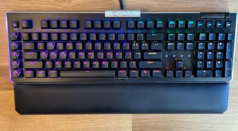 Оптико-механическая игровая клавиатура EVGA Z20.