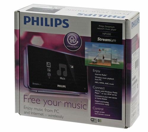 Обзор сетевого музыкального плеера Philips NP1100 Streamium