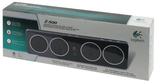 Обзор беспроводных динамиков для ноутбука Logitech Z-500