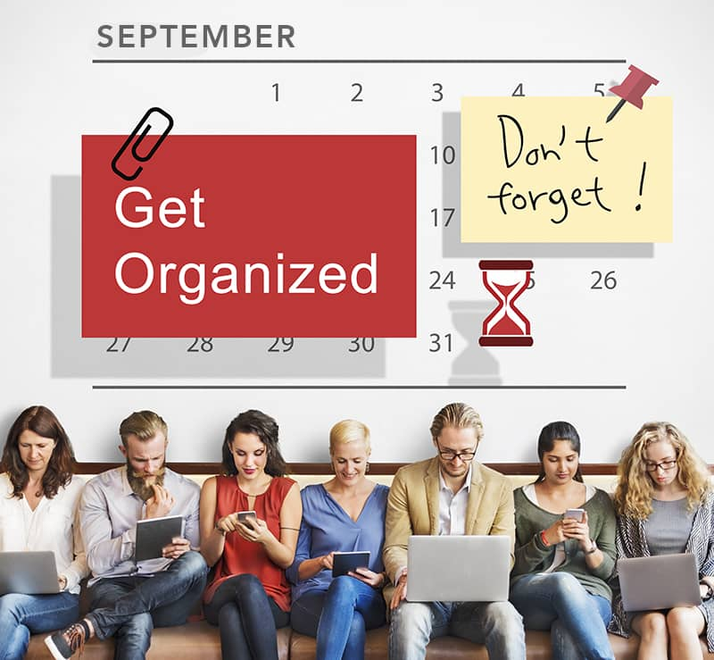 Tips and Tricks to Get Organized
