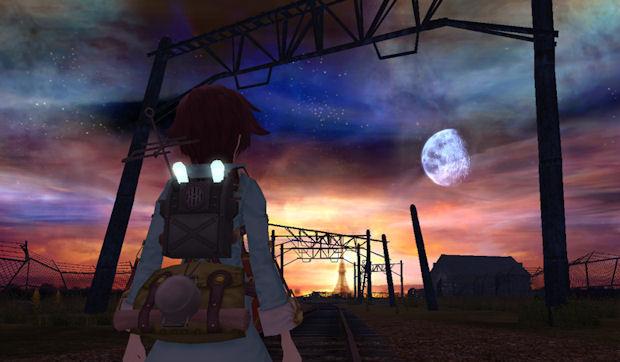 Seto and PT at dusk.