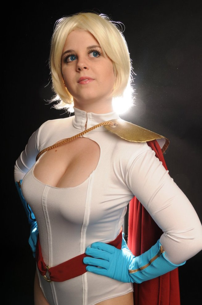 Gina G. as the straight up, no BS, Powergirl